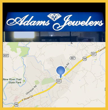 Photo Of Galax VA Adams Jewelers Store Front